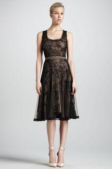 Black Lace Cocktail Dress on Zac Posen Black Shortsleeve Lace Peplum Cocktail Dress