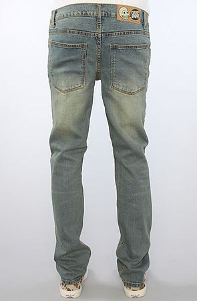 Cheap Monday The Tight Fit Jeans in Dirt Blue in Blue for Men