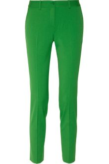 Michael Kors Stretch-wool Gabardine Skinny Pants - Lyst
