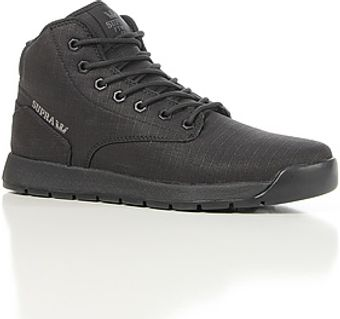Supra The Backwood Sneaker in Black Waxed Ripstop Grey Accents - Lyst