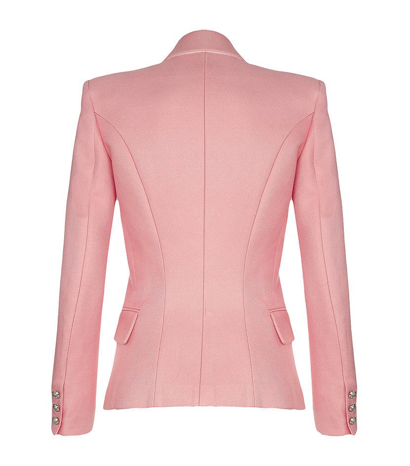 Balmain Tailored Jacket in Pink   Lyst