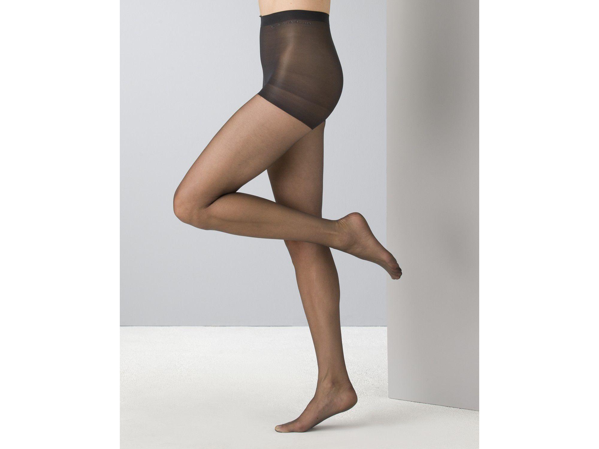 c9b1435115200 Calvin Klein Hosiery Infinite Sheer Control Top 705n in Black - Lyst