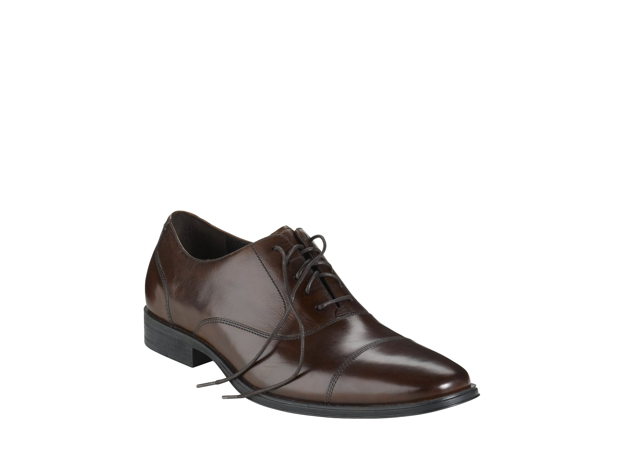 Cole Haan Nike Air Adams Cap Toe Oxford In Brown For Men (dark Brown) | Lyst