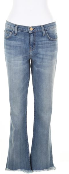Current/elliott The Flip Flop Jeans in Faded Denim in Blue (denim)