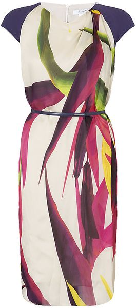 Max Mara Harry Silk Dress - Lyst