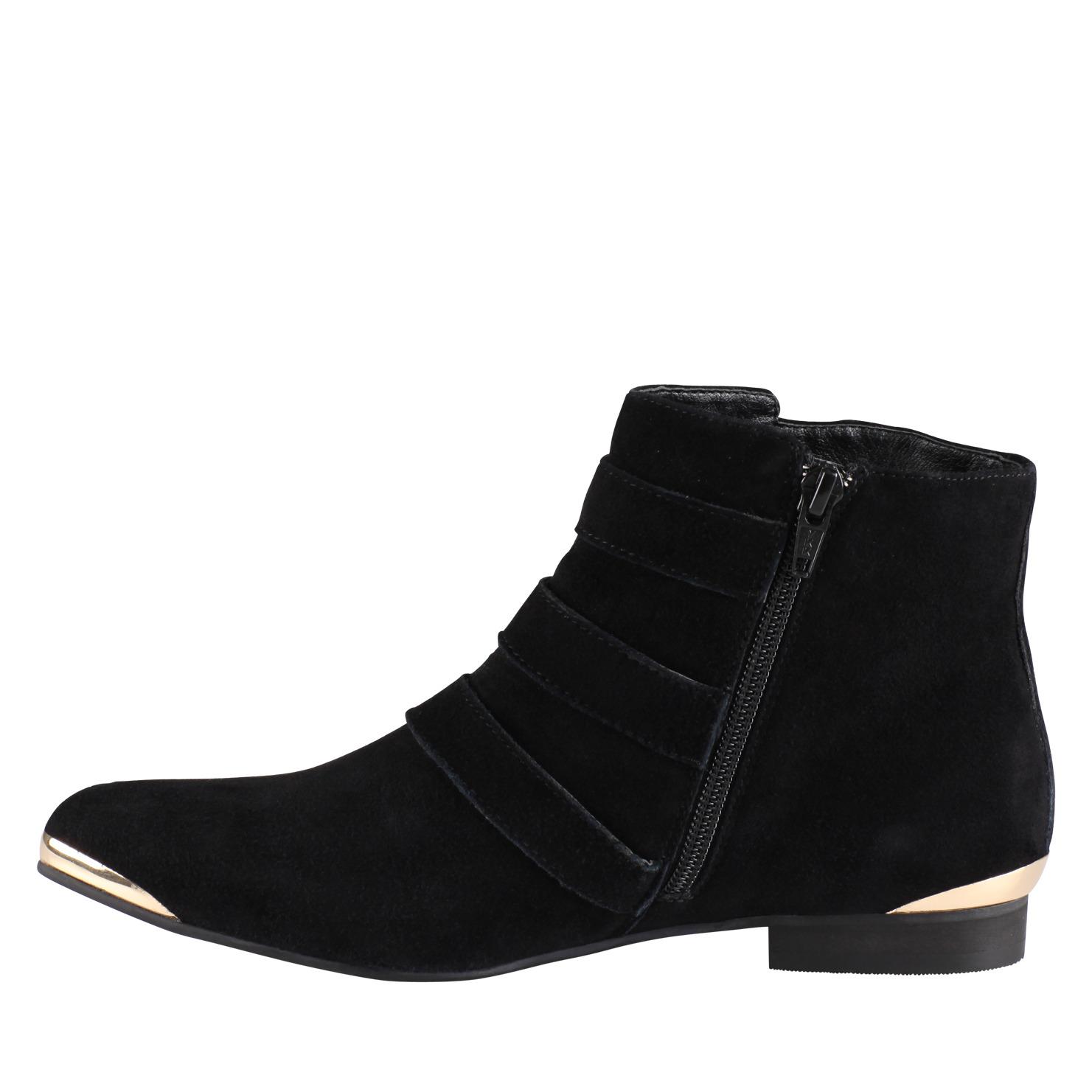 ALDO Flojoey Boots in Black Suede (Black)