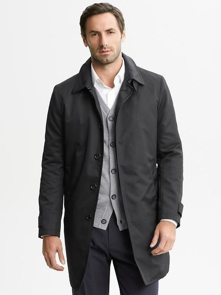 Canali Mens Mac Jacket 50 / 40 US Wind Rain Tech Solid Black Leather Collar Coat. Brand New · Canali. $ or Best Offer +$ shipping. Free Returns. UPSTREAM Mens Mac Tools Coat Jacket Large Puffy Polyester. Pre-Owned. $ Vintage Mighty Mac Coat Mens L 70s. Pre-Owned.