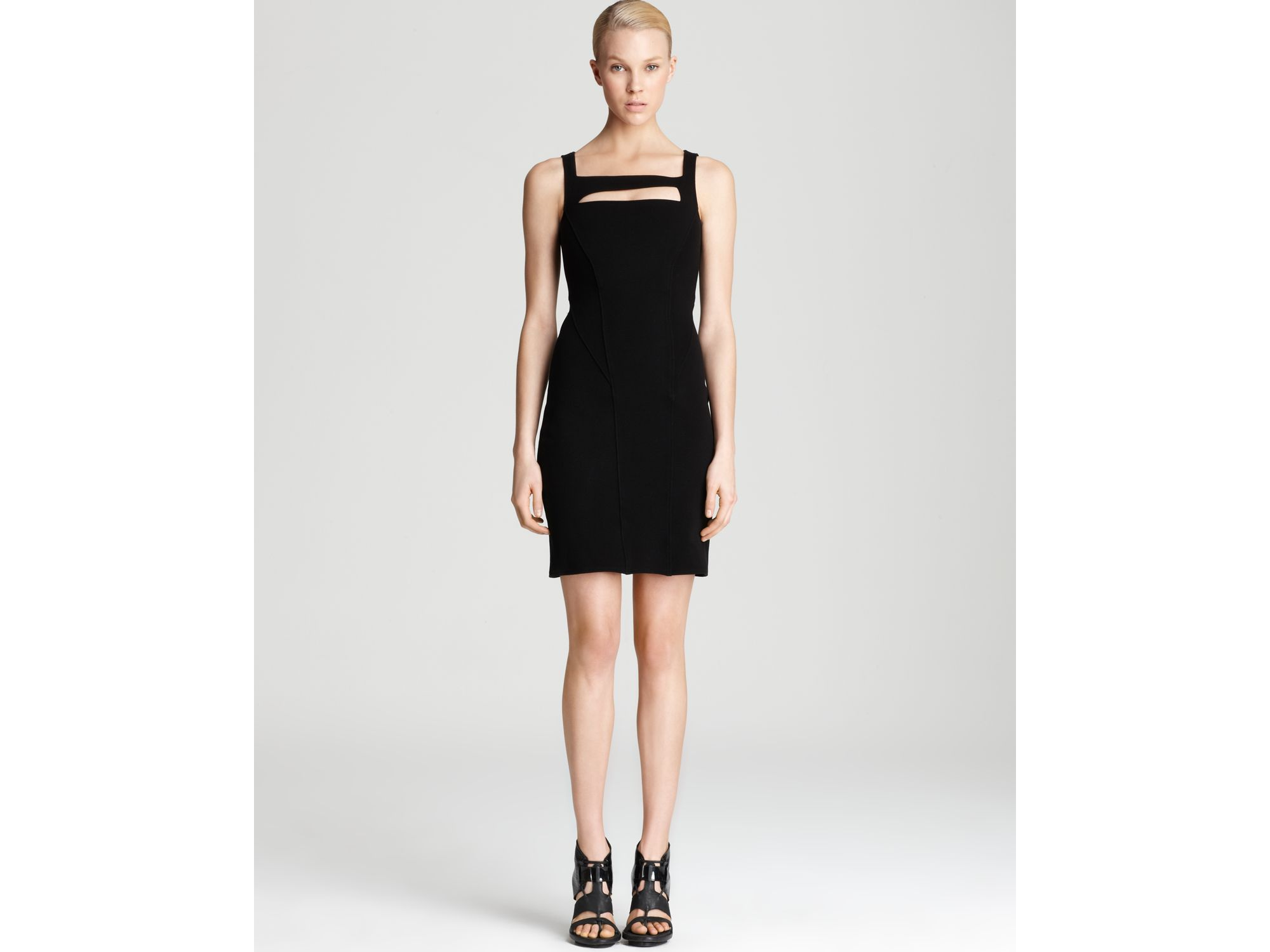 knitted cut-out dress - Black Helmut Lang SSeV9m