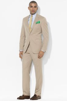 Polo Ralph Lauren Two Button Gabardine Suit - Lyst