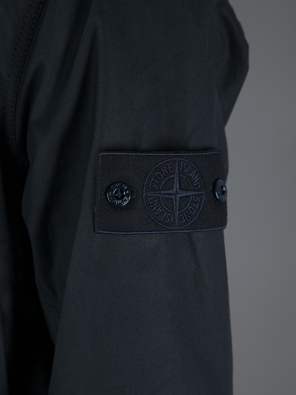 Brown Stone Island Jacket