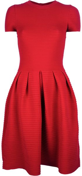 Valentino Aline Dress in Red - Lyst