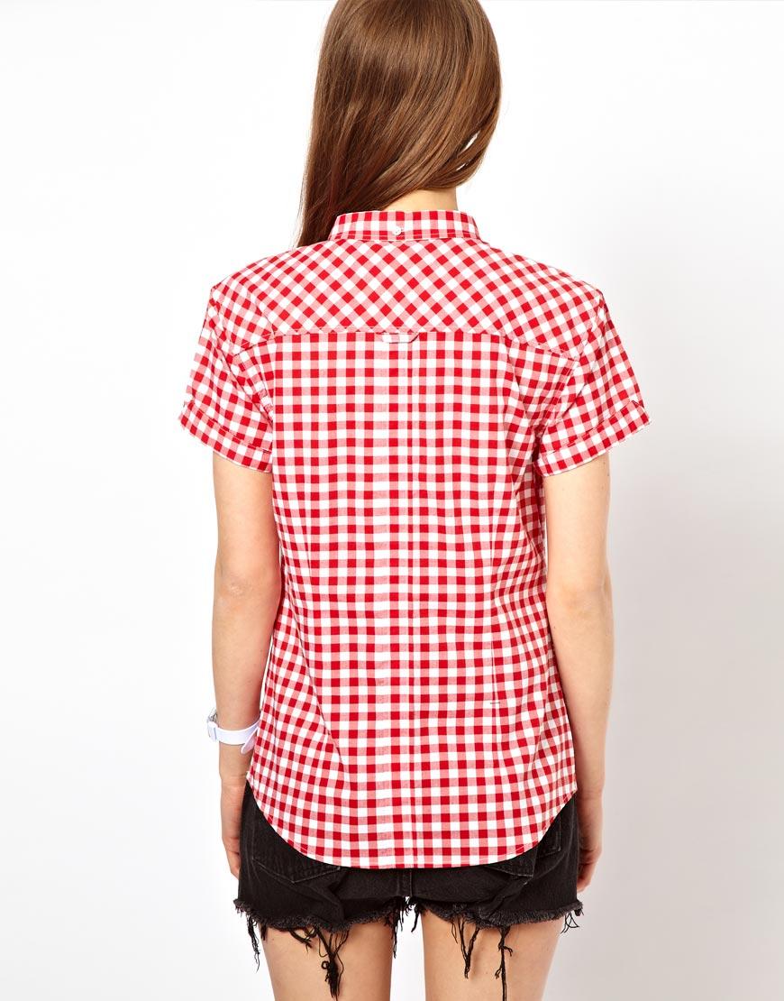 Gingham Shirt Womens