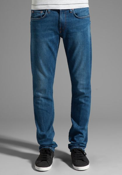 J Brand Tyler Perfect Slim Jeans in Blue for Men (blue beatnik)