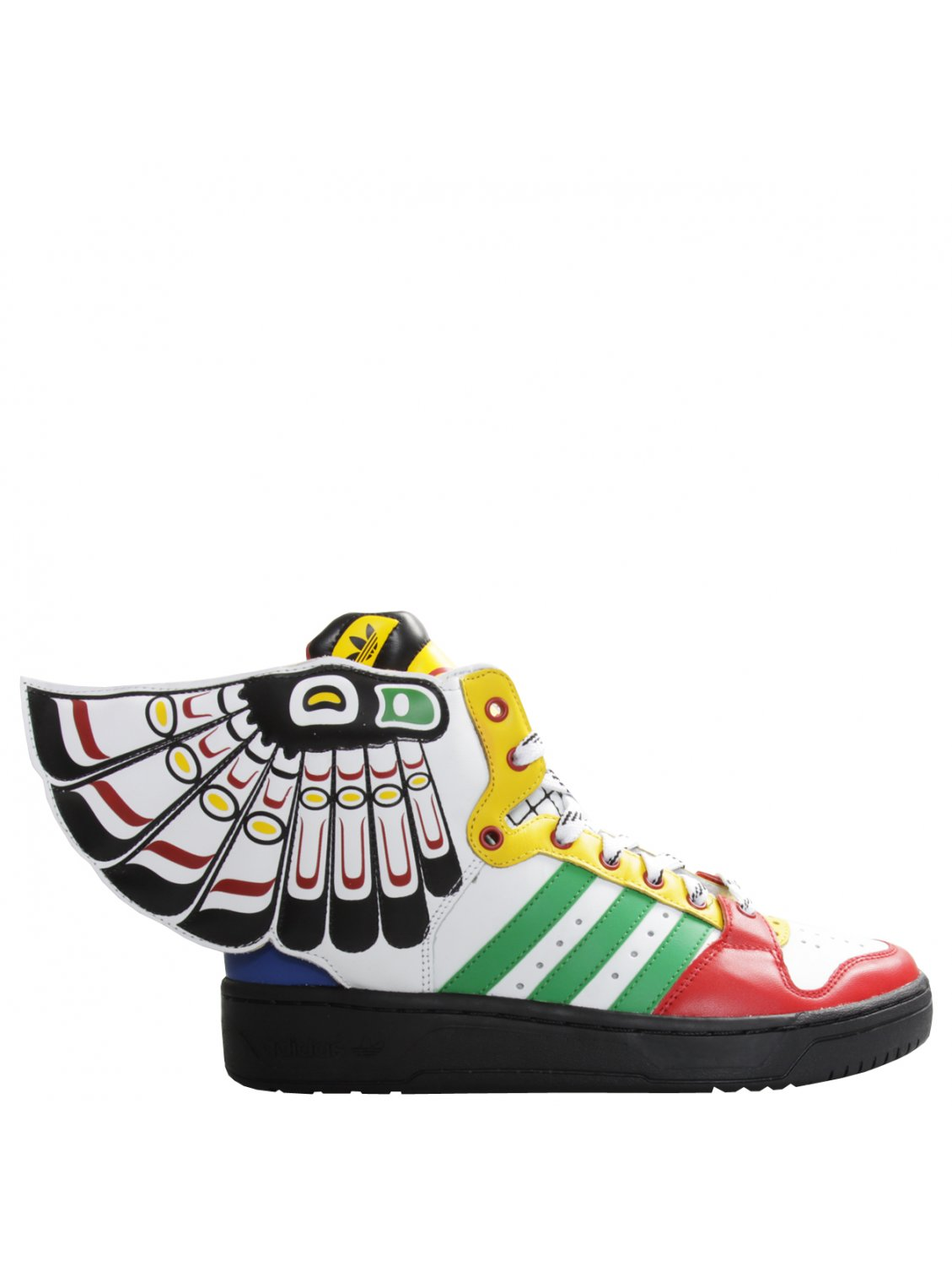 Jeremy scott for adidas Eagle Wing Totem Sneakers Multi
