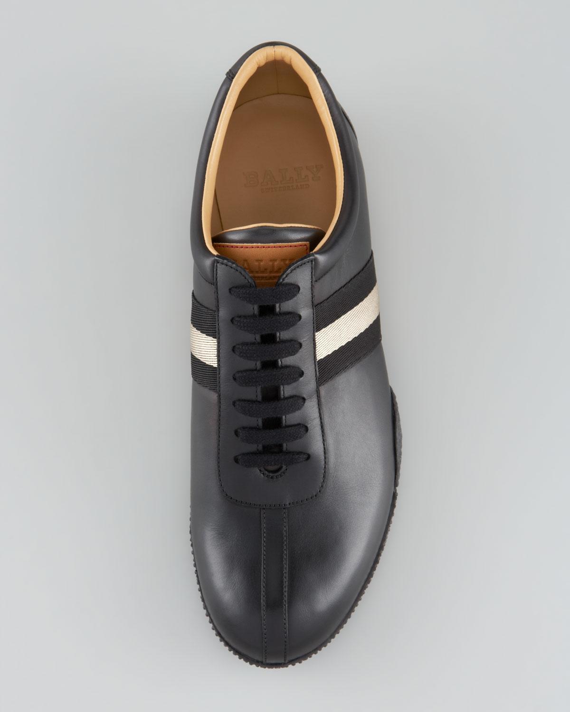 bally freenew sneaker in black for lyst
