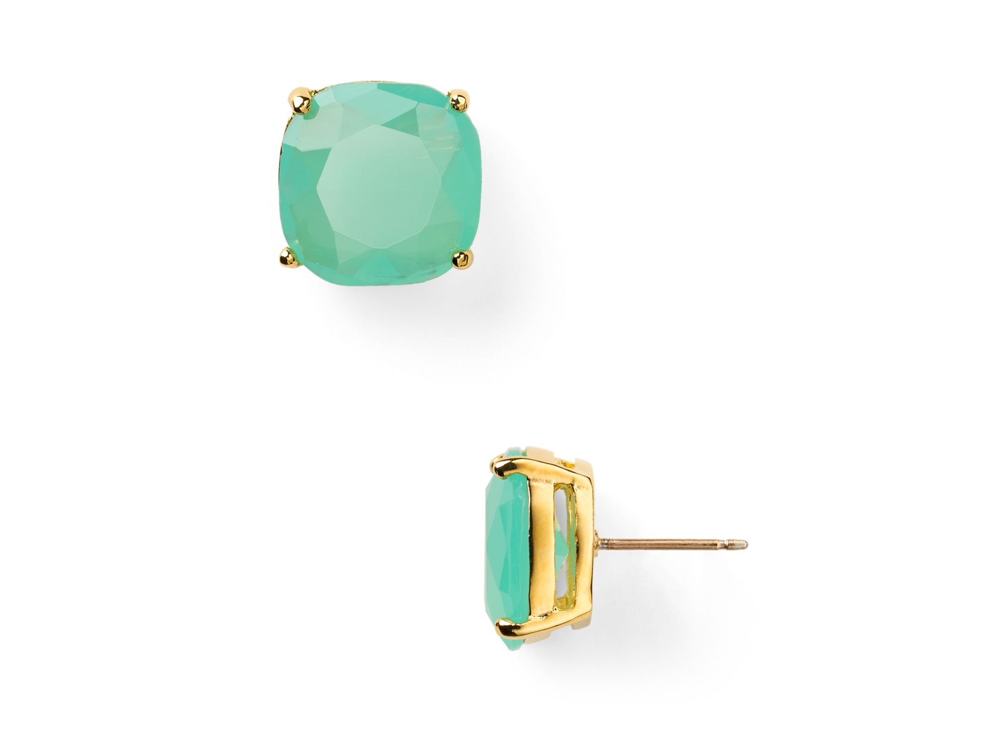 Kate Spade New York Small Mint Studs Mint Green pqHUMC