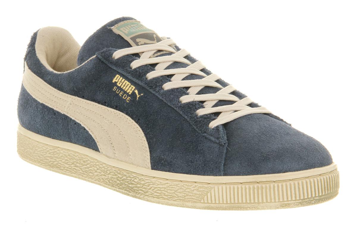 fd30afe231e2 Blue Men In Denim White Classic Vintage Lyst Puma Suede For qz0x7A