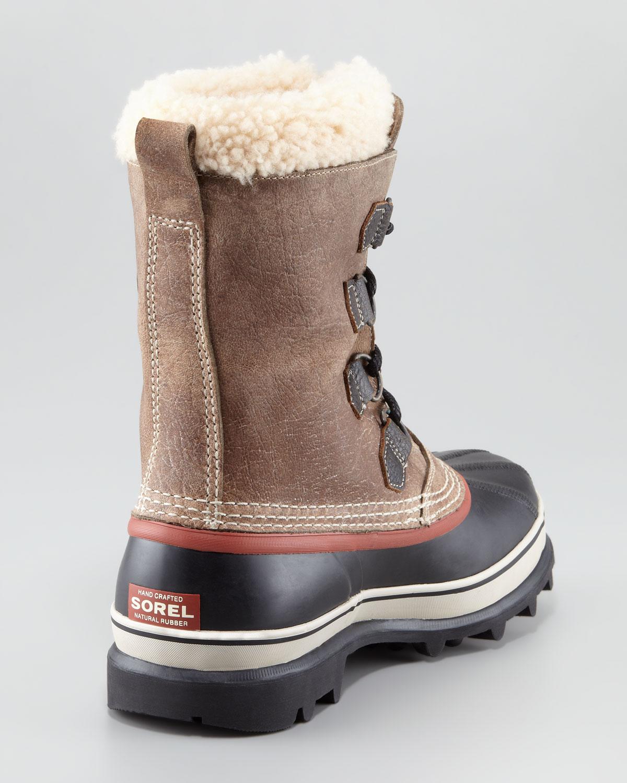 Sorel Boot Liners >> Lyst - Sorel Caribou Reserve Winter Boot in Brown for Men