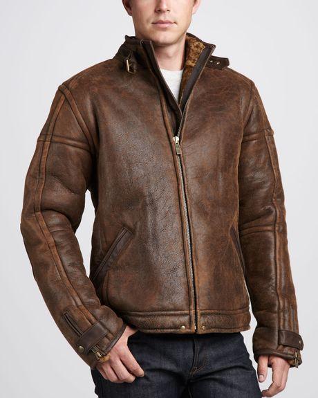 ugg mens shearling jacket