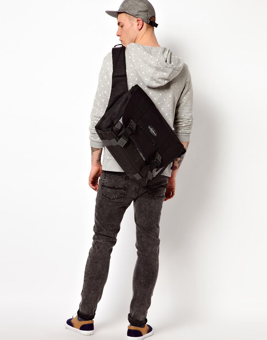 Eastpak Kruizer Messenger Bag In Black For Men Lyst