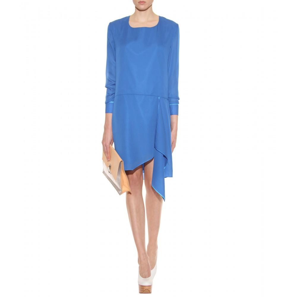 Acne electric blue dress