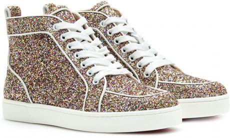 Christian Louboutin Rantus Orlato Glitter Sneakers in Multicolor (multicoloured)