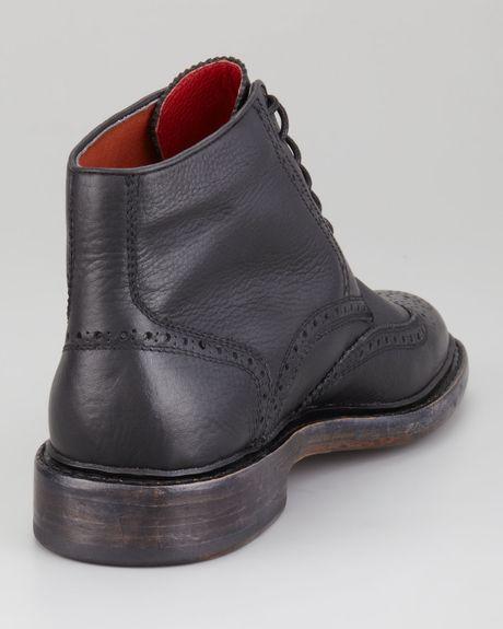 Florsheim Brogue Boot Brown Brokenin Brogue Boot