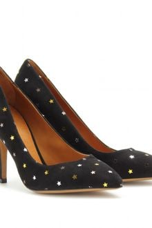 Isabel Marant Anaid Suede Star Pumps - Lyst