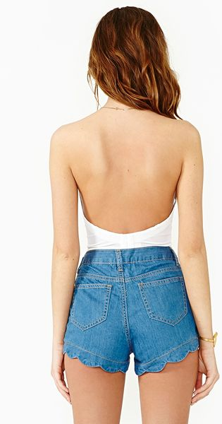 Find great deals on eBay for womens scalloped shorts. Shop with confidence.