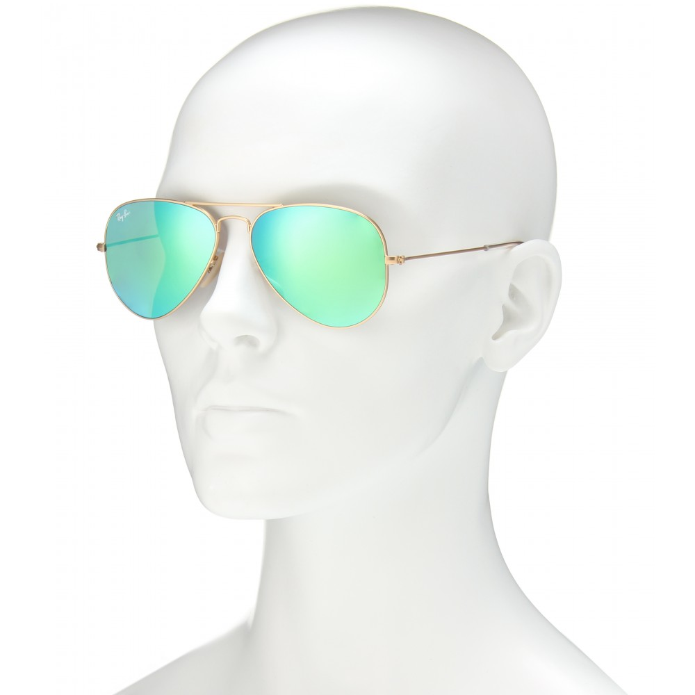 Ray-Ban Aviator Small 55 Sunglasses in Blue