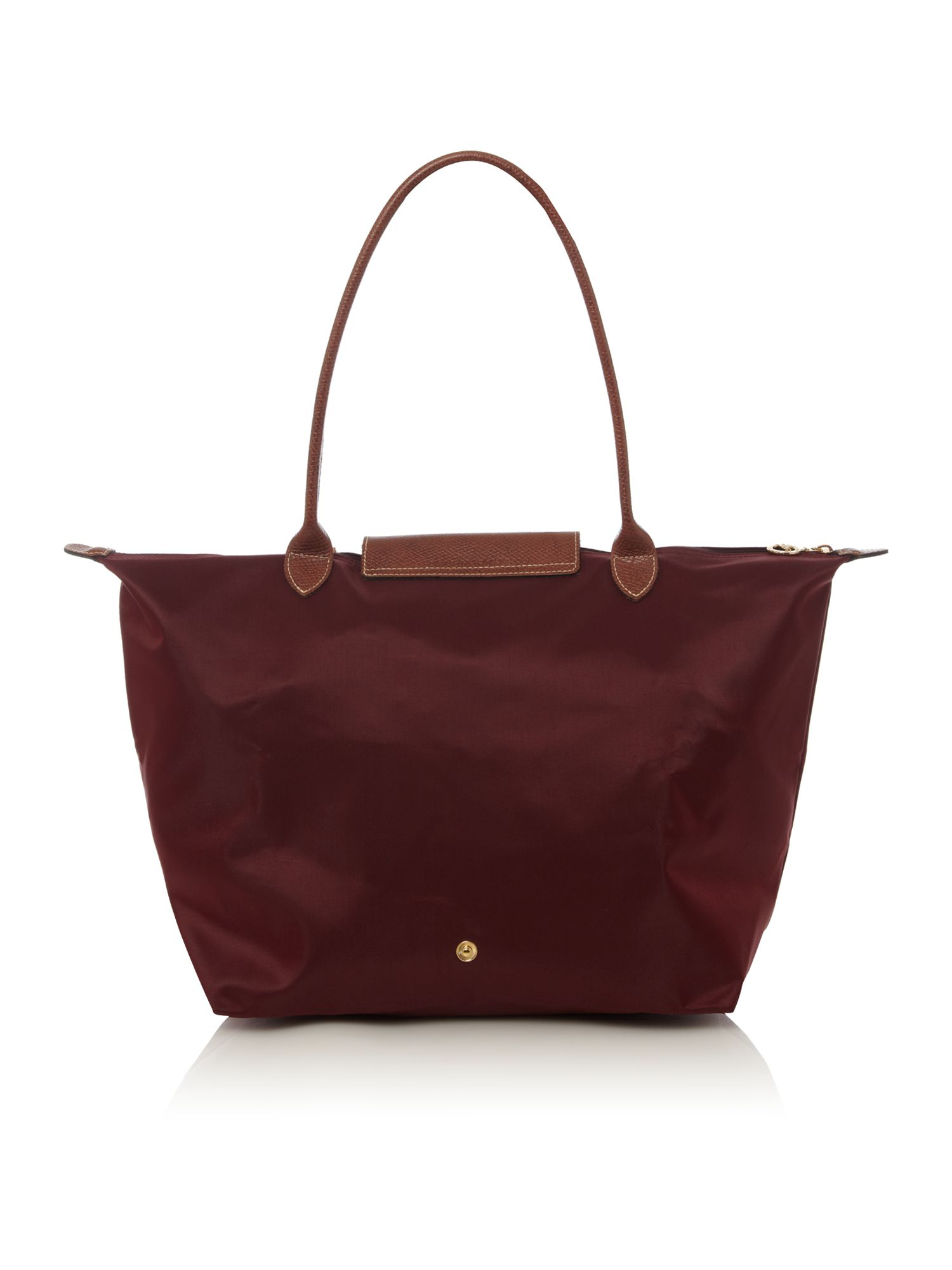 Longchamp Bag Le Pliage House Of Fraser : Longchamp le pliage tote in red lyst