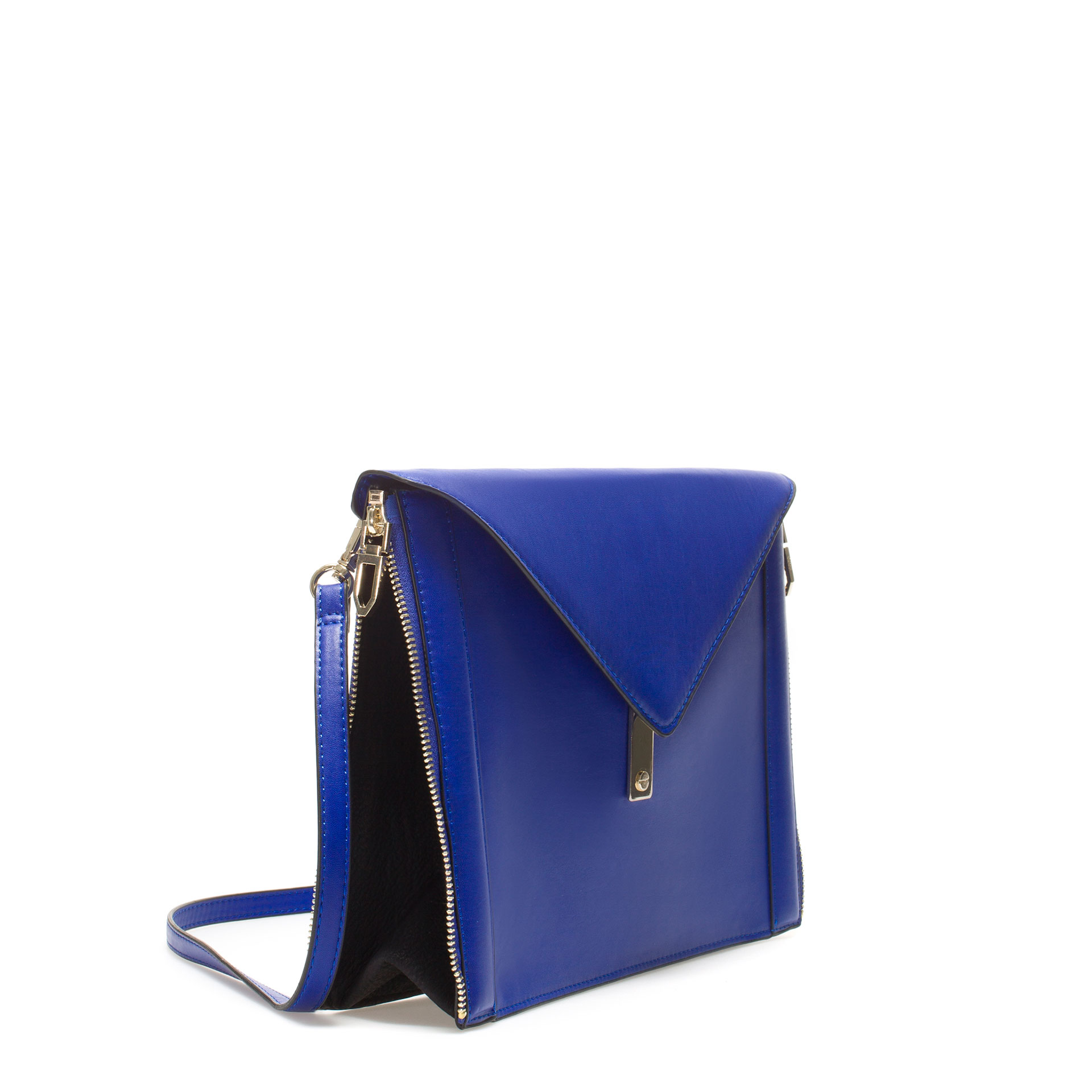 Zara Day Time Clutch Bag in Blue | Lyst