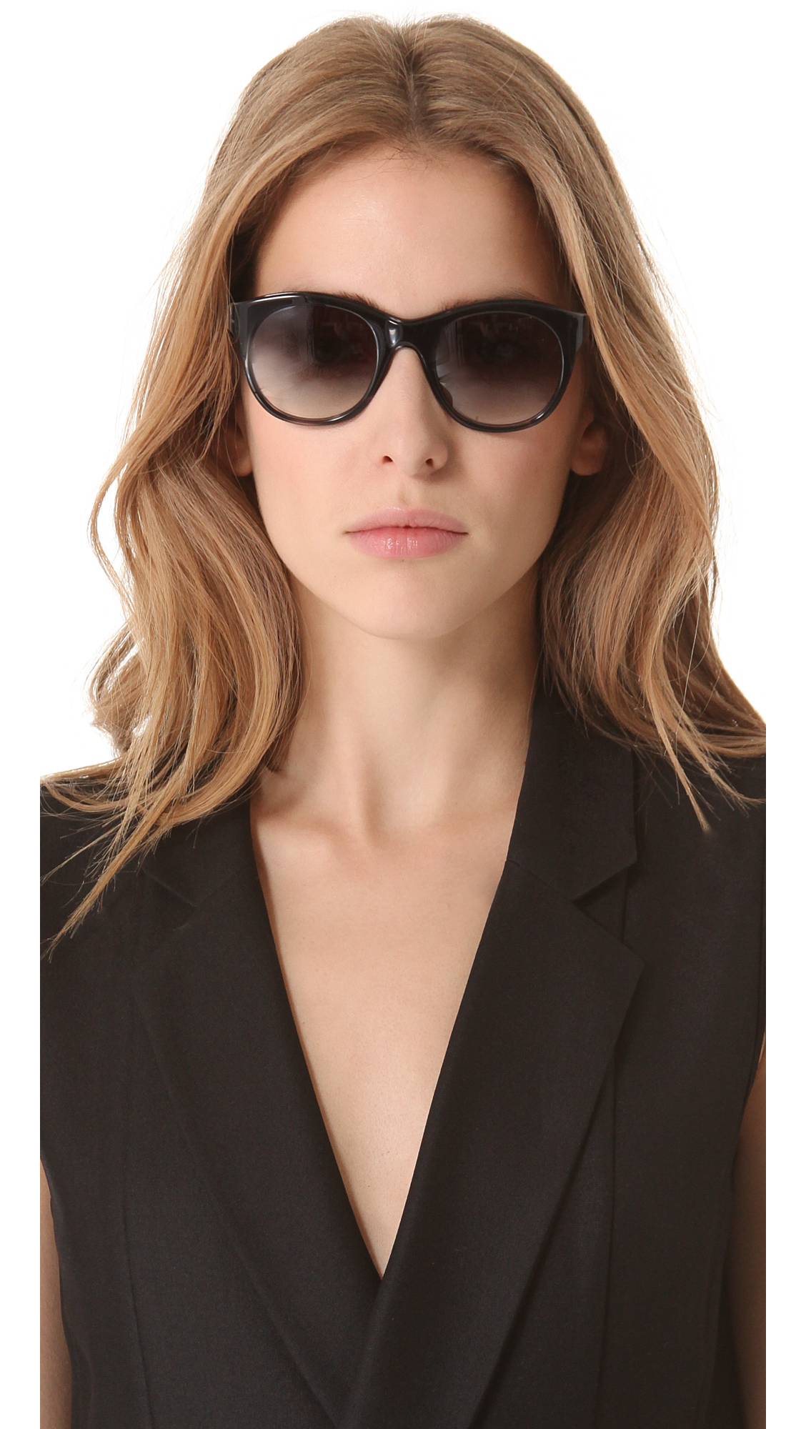 lyst elizabeth and james horatio sunglasses in gray. Black Bedroom Furniture Sets. Home Design Ideas