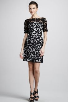 Milly Dress on Milly Half Sleeve Lace Dress   Lyst