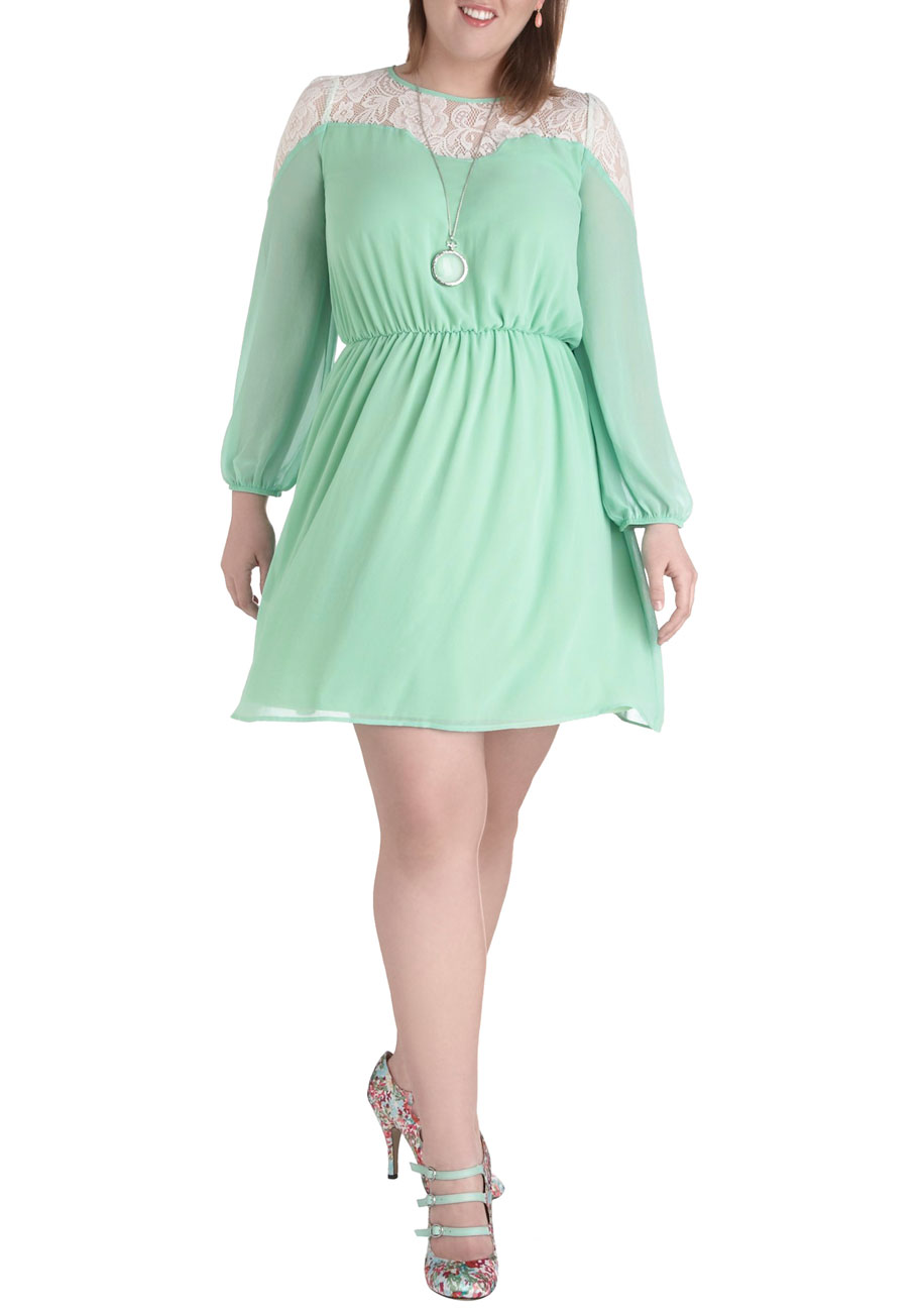 Rosemary To The Occasion Dress in Plus Size