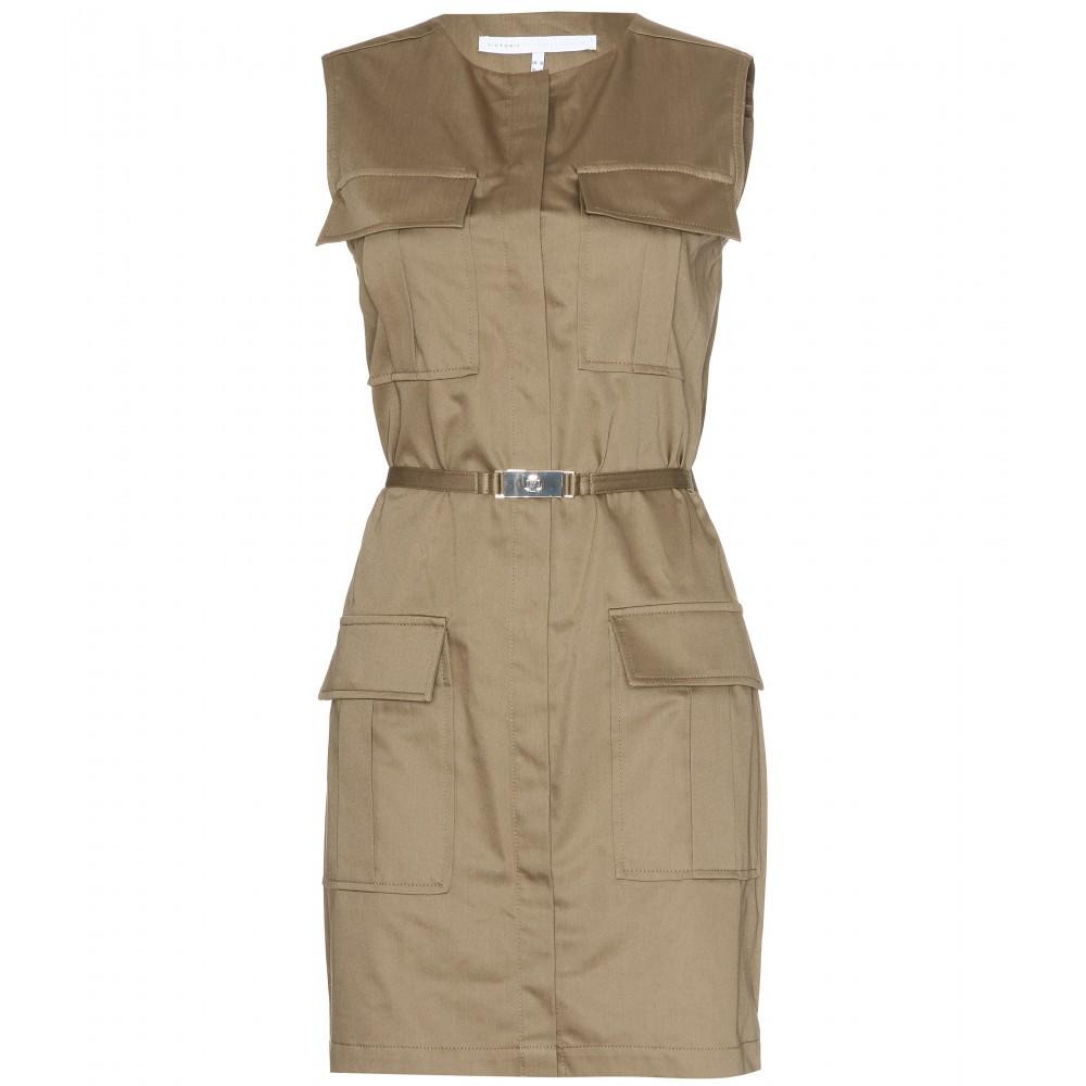 Lyst Victoria Victoria Beckham Belted Safari Dress In
