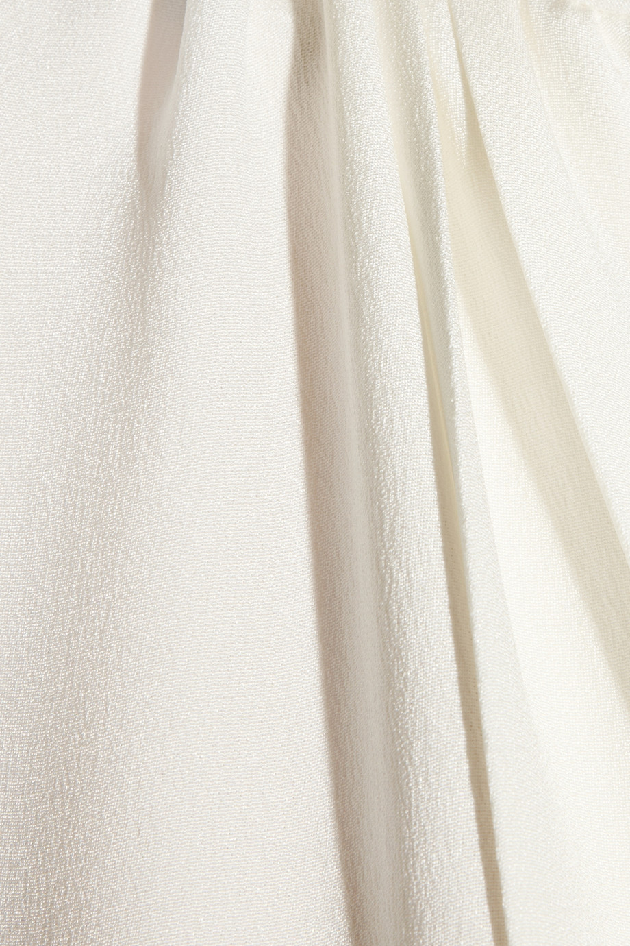 Lyst Derek Lam Belted Silkcrepe Dress In White