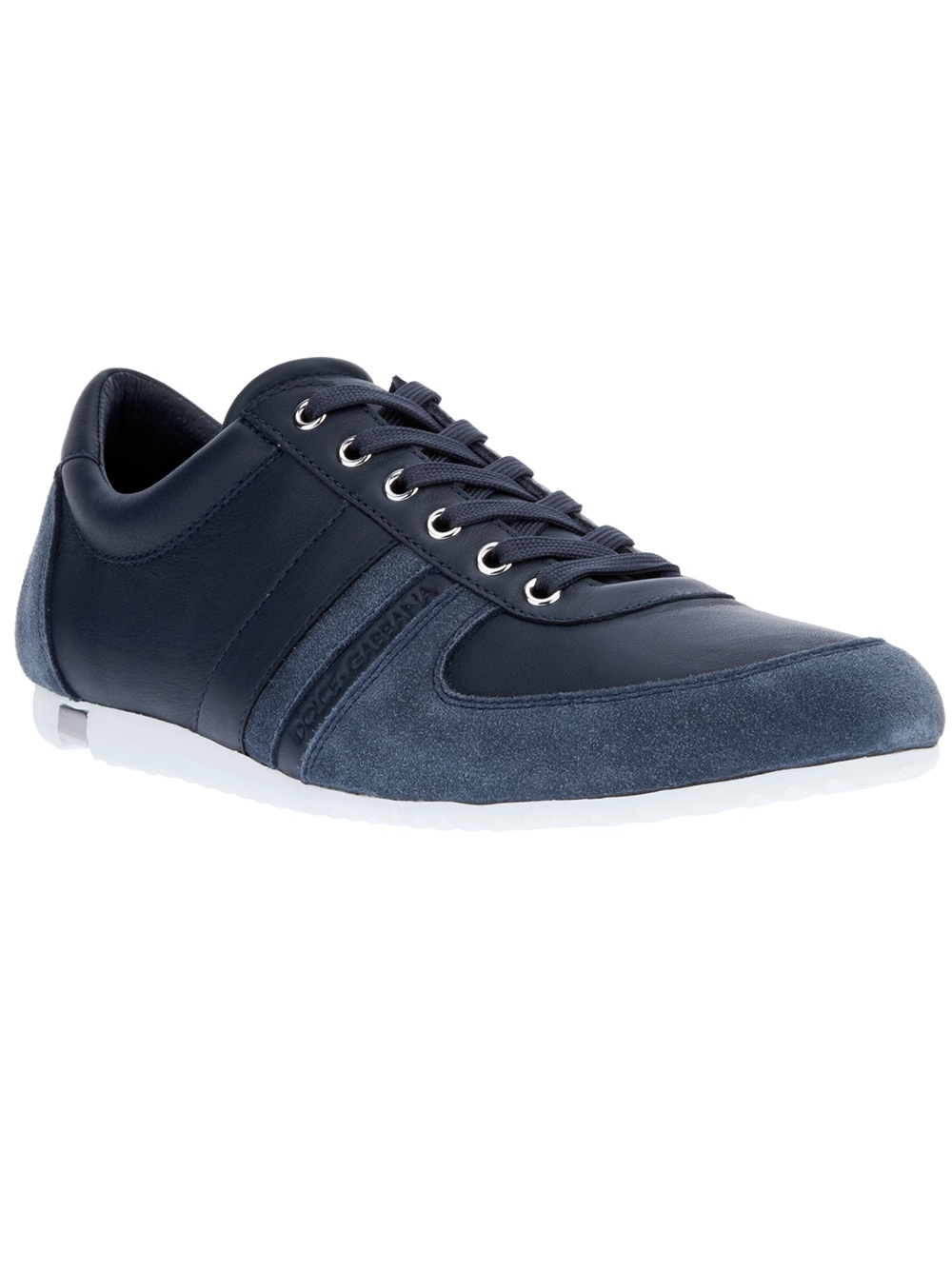 dolce gabbana australia sneaker in blue for men lyst. Black Bedroom Furniture Sets. Home Design Ideas