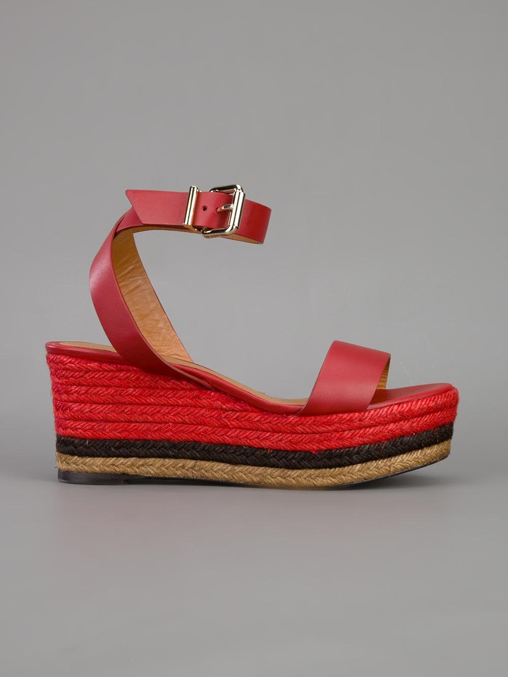 Wedge Sandals Steve Madden Fendi Wedge Sandal in ...