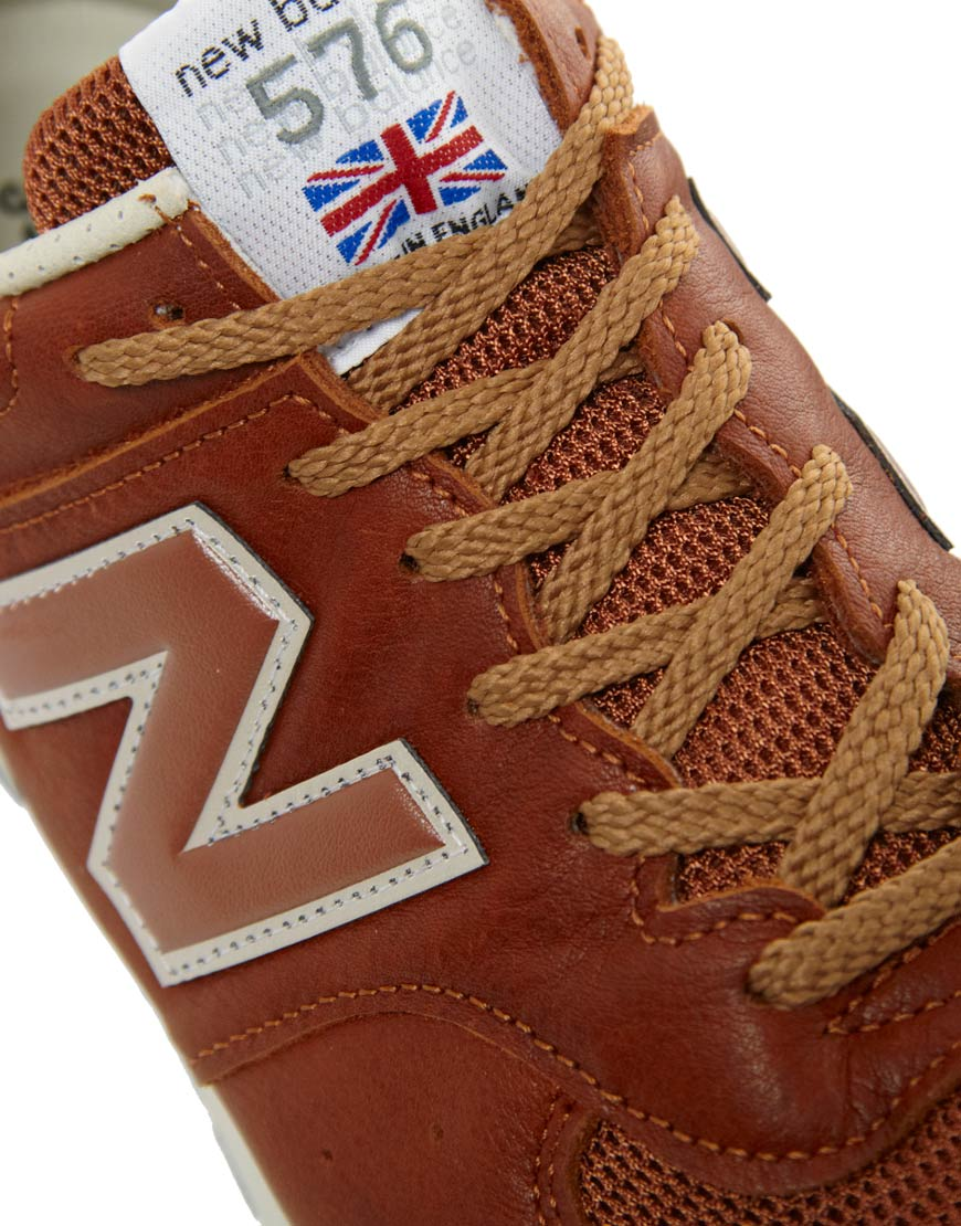 new balance 576 made in england brown leather