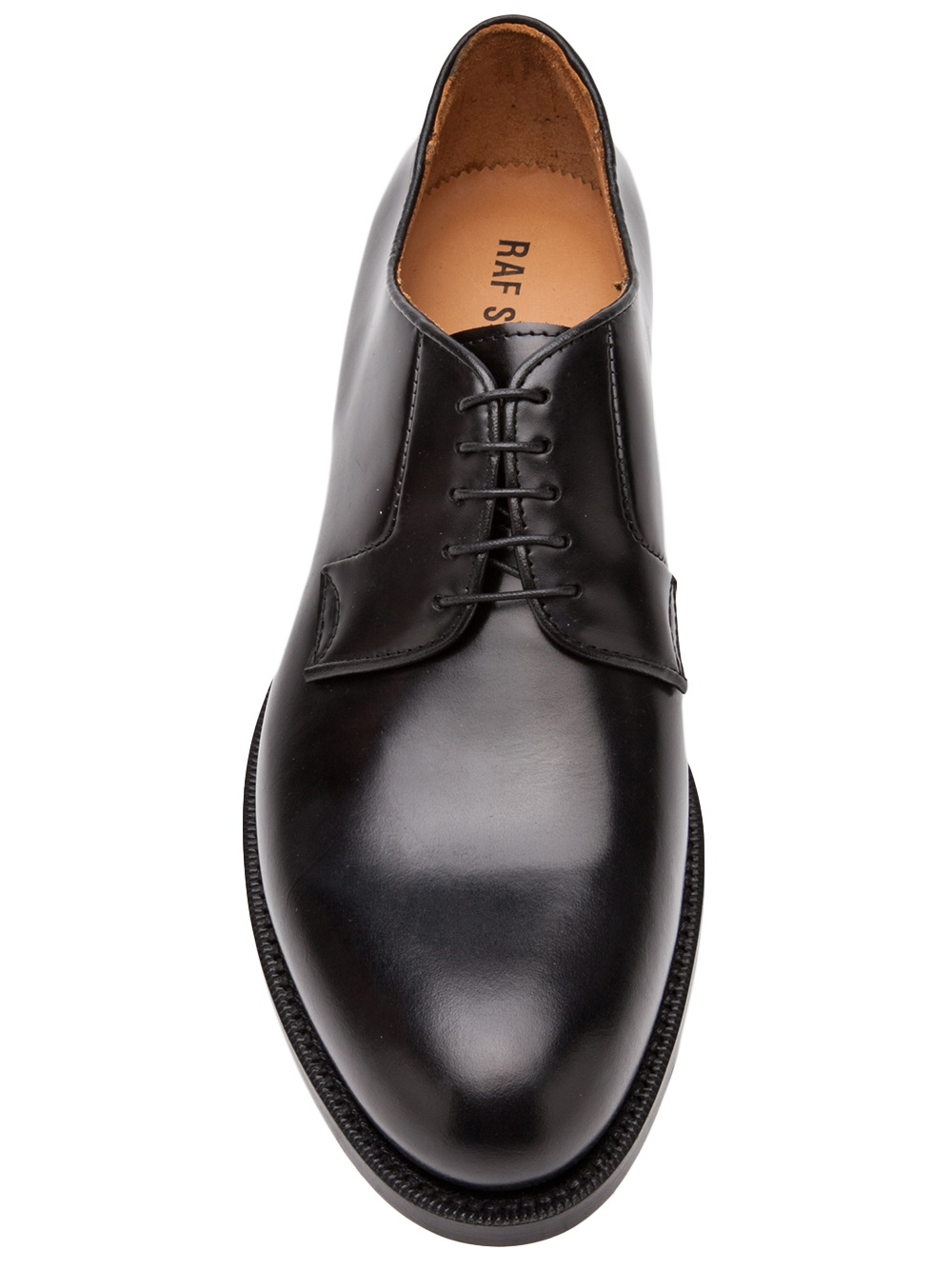 Raf Simons Laceup Dress Shoes in Black for Men