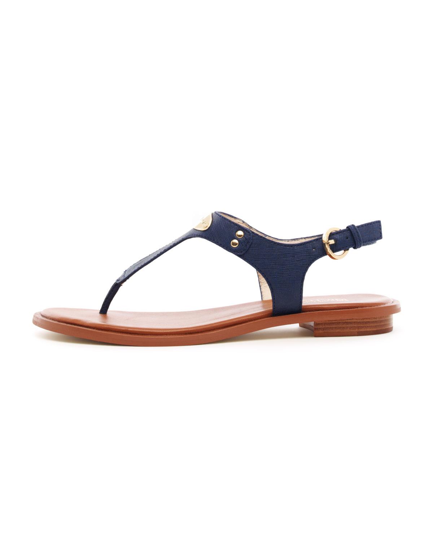 Michael Kors Flat Tstrap Thong Sandal