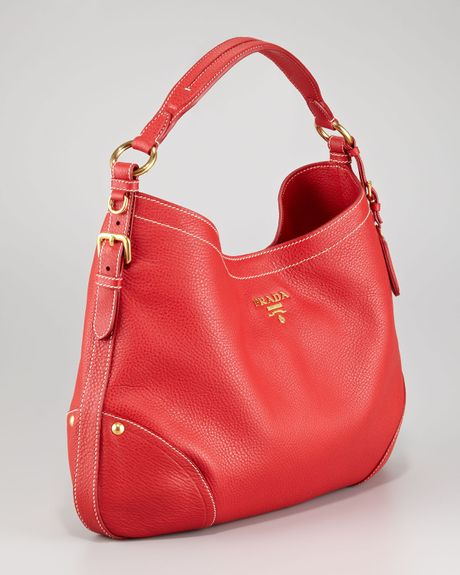387dabe1f643 Red Prada Bag Leather Hobo | Stanford Center for Opportunity Policy ...