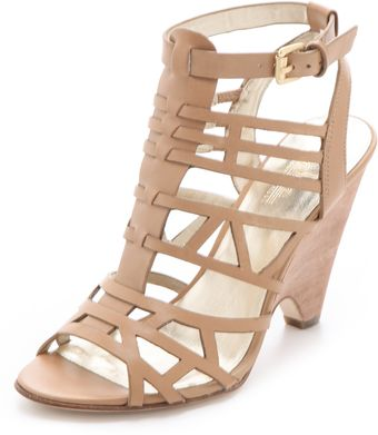 Belle By Sigerson Morrison Augurst Caged Sandals - Lyst