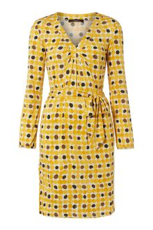 Weekend By Maxmara Calcina 34 Sleeve Tie Waist Print Dress - Lyst