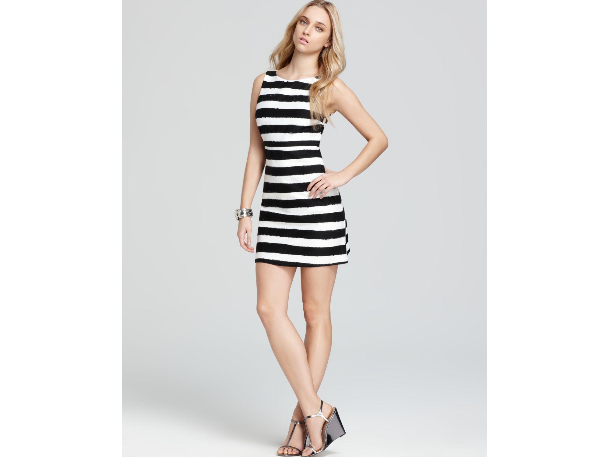 A Line Stripe Dress