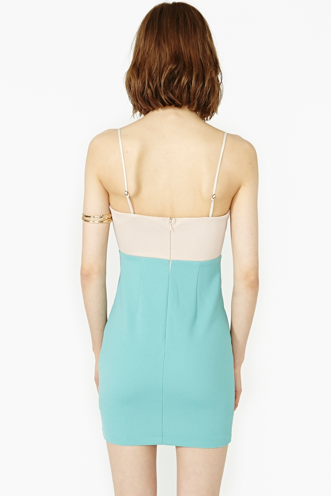 Lyst - Nasty Gal Color Theory Dress In Green-3327