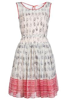 RED Valentino Dress with Full Skirt - Lyst