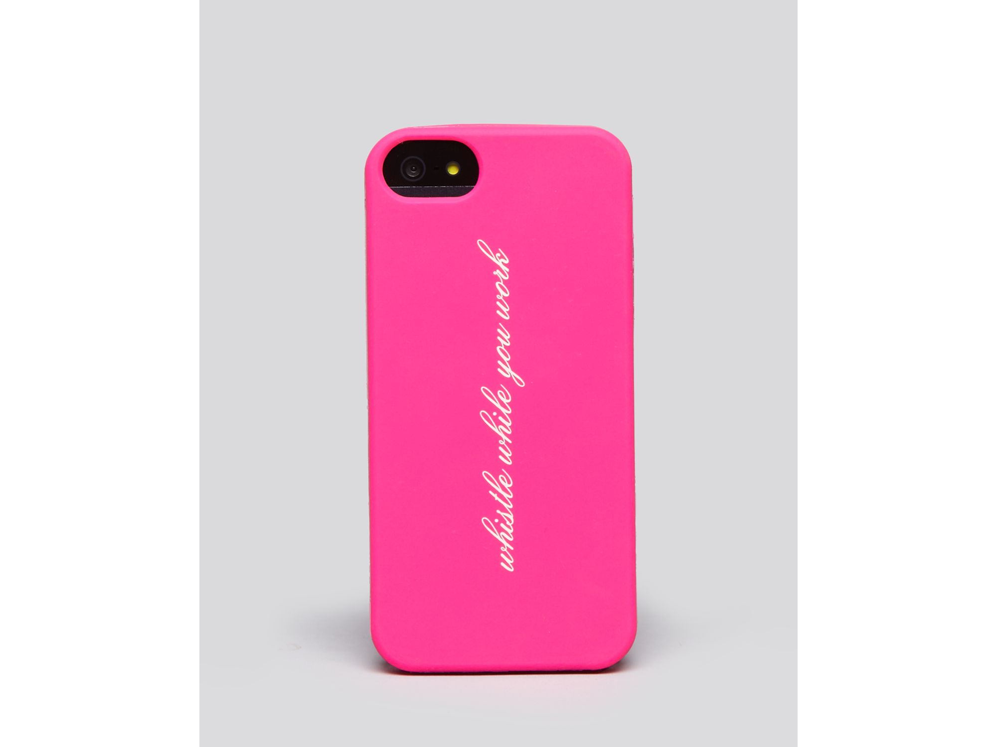 Kate Spade Iphone 5 Case Whistle in Pink : Lyst