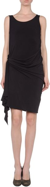 Michael Kors Short Dresses in Black (dark purple)